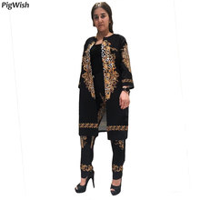 226a3c801ae African Dress Clothes For Women Print Dashiki Riche Ankara Clothing Bazin  Plus Size 4XL Women 2 Piece Set Top And Pants Suit