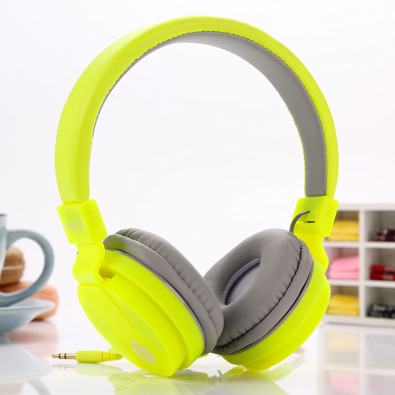 Newest Cute Headphones Candy Color Foldable Children Kids Headset with Mic Earphone For iPhone Mp3 player Smartphone Computer