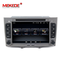 MEKEDE HD 2DIN Android 8.1 Quad Core Car DVD Player GPS Navi for Peugeot 408 for Peugeot 308 308SW Audio Radio Stereo Head Unit