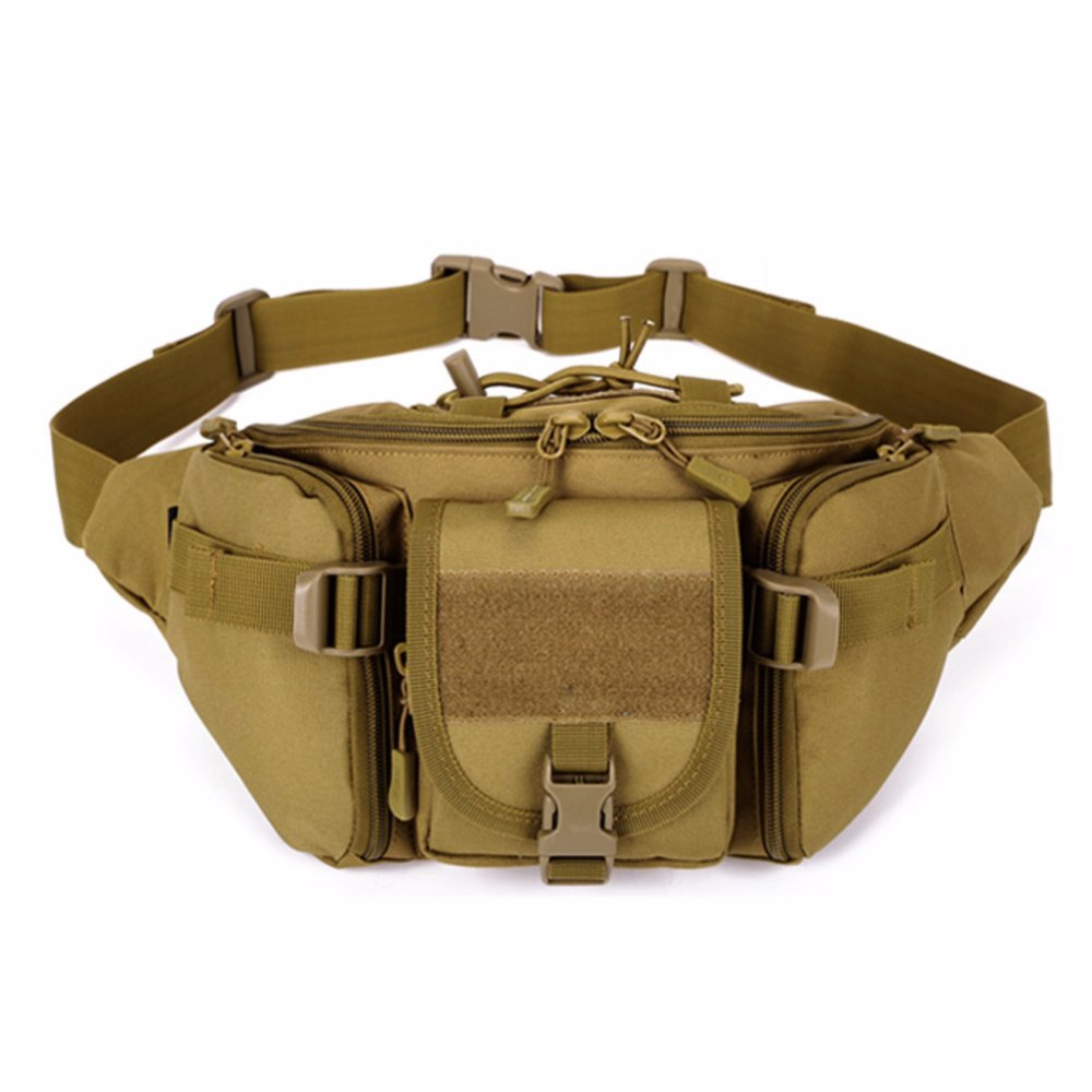 High Quality 2018 Molle Tactical Men Waist Pack Fanny BELT Climb Bum bag Military Equipment Outdoor Sports Bag