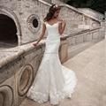 2017 Nova Chegada do Vestido de Casamento Vestido De Novia de Noiva Louisvuigon Sereia Vestidos de Casamento Robe De Mariage Vestidos de Noiva de Renda