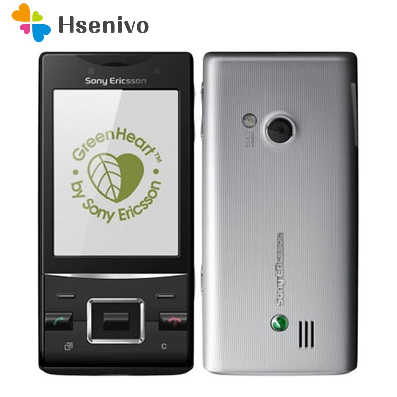 100% Original Sony Ericsson J20 Mobile Phone 3G Bluetooth FM Unlocked Slide J20i Cell Phone Free Shipping