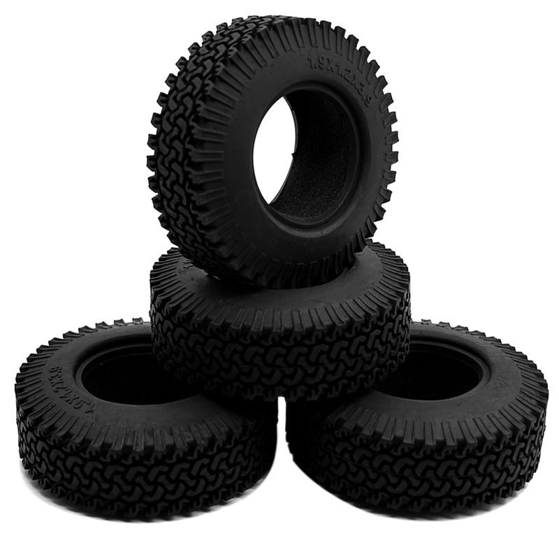 "4pcs 1.9/"" 98mm OD Tyres Tires for 1//10 RC Crawler F350 D90 Axial SCX10"