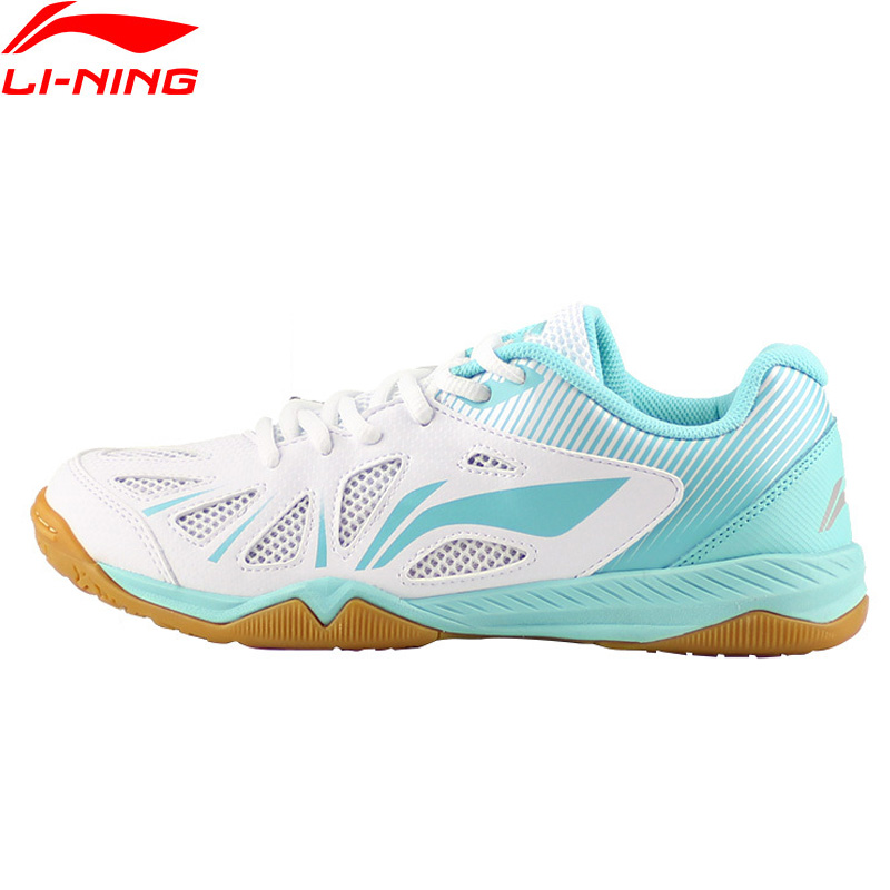 Li-Ning 2018 Для женщин Вихрь Обувь для настольного тенниса сборная дышащие кроссовки носимых Li Ning комфорт спортивная обувь APTM004