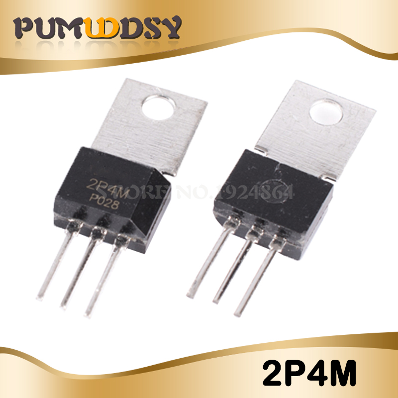 10 PCS 2P4M TO-202 2A PLASTIC MOLDED THYRISTOR
