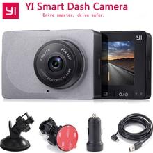 [International Edition]Xiaomi YI Smart Car Camera 1080P 60fps 165 Degree Detector 2.7″ Dash Camera ADAS Safe Reminder YI Car DVR