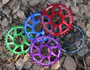 Deckas gxp دراجة الدراجة الجبلية crankset chainring round32T-38T ل gx XX1 XO1 x1 xo x9 crankset أجزاء repiar