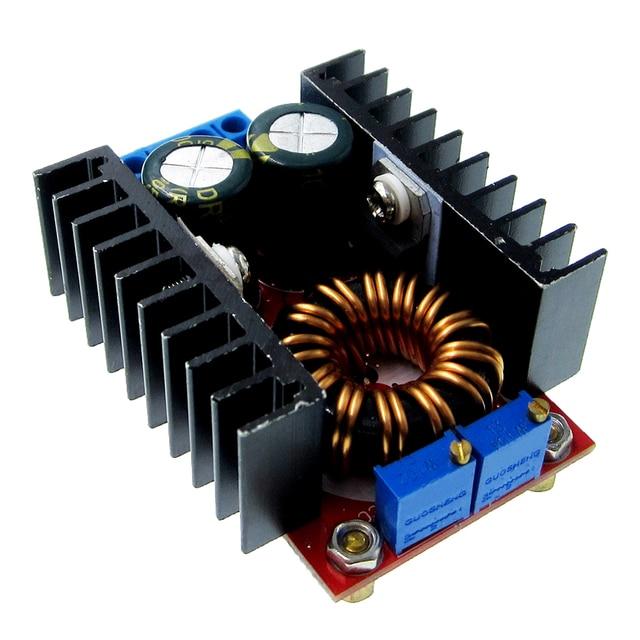 DC DC CC CV 降圧ブーストコンバータ 9 35 に 1 35 ボルト 80 ワット降圧ブースター DC ステップダウンステップアップアダプタモジュール調整可能な電圧レギュレータ