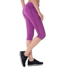 Women's Running Workout Sports Capri Leggings Pants