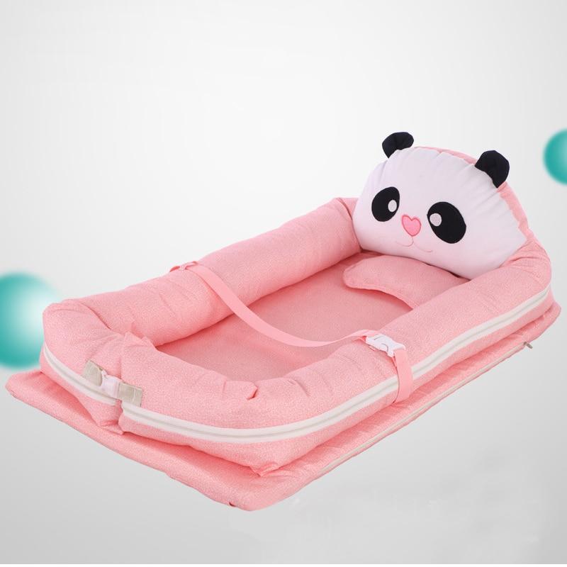 Portable Baby Anti-pressure Bed Multi-function Folding Newborn Bionic Mattress Crib Kids Bed