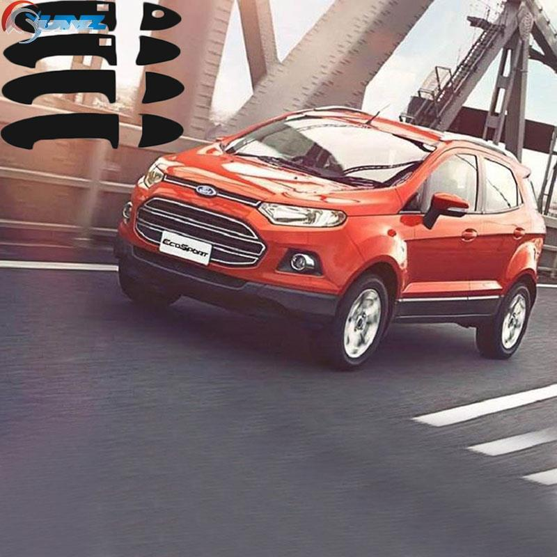 For Ford Ecosport Accessories Black Handle Cover Trim Suitable Ford Ecosport Accessories Car Decorative Parts Ycsunz In Exterior Door Handles From