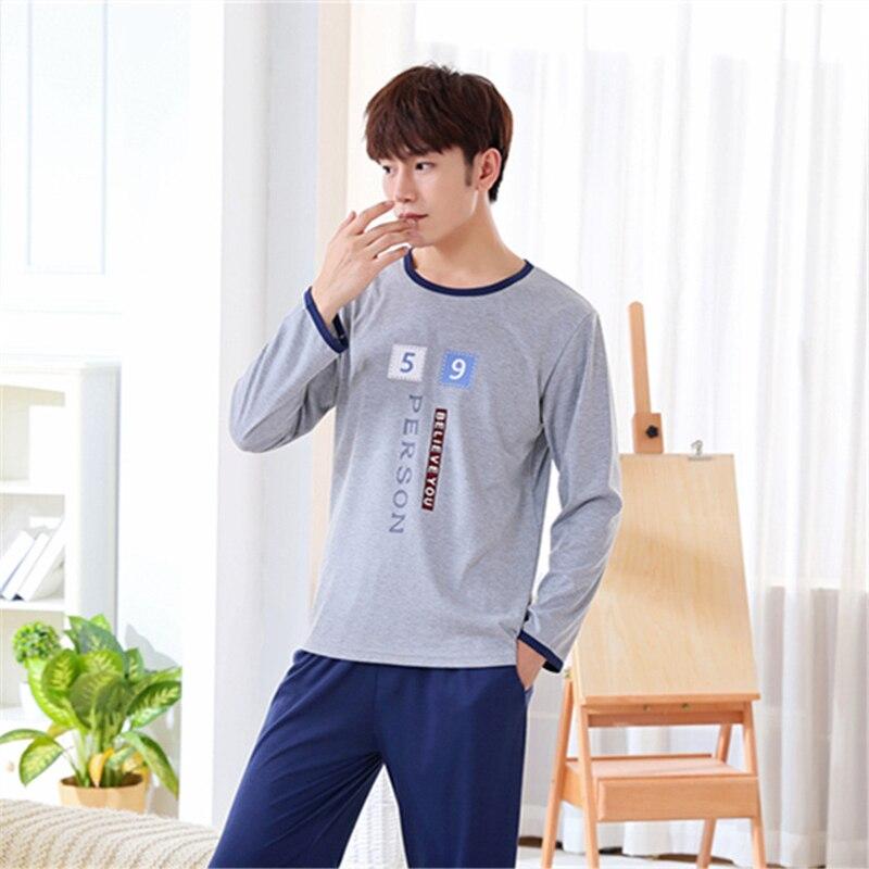 eedb094ac1 SusanDick 2018 Men Nightwear Long Sleeve Soft China Silk Pajamas 2 Piece  Set Spring Summer Pyjama Homme Man ...