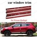 Стайлинг автомобиля из нержавеющей стали отделка окна декоративные полосы внешние аксессуары для N-issan Q-ashai