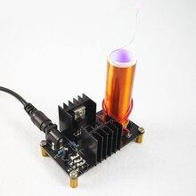 Мини музыкальный плазменный динамик с катушкой Тесла Беспроводная передача DIY катушка комплект Прямая поставка поддержка