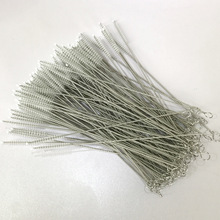 FUHAIHE 100pcs/lot brushes for reusable plastic straws Eco friendly stainless steel straw brush 20cm