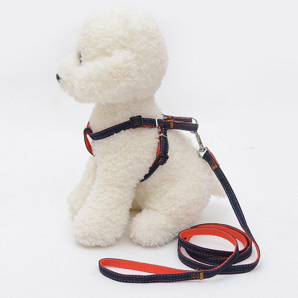 Собака Жилет Жгут и поводок набор квадратный Форма моды выйти жгут светодиодный ошейник  ...