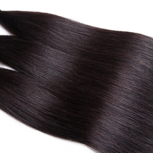 Bling Hair Brazilian Straight Unprocessed Virgin Human Hair 3 Bundles Nature Color  For Salon High Ratio Longest Hair PCT 30%