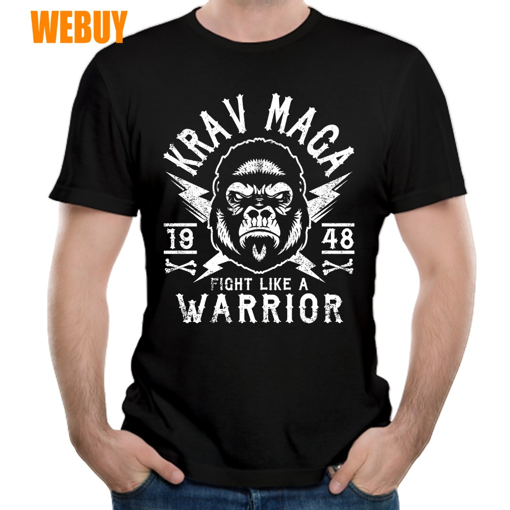 aa4c8cfa119 Cheap KRAV MAGA TRAIN LIKE A BEAST Male Organnic Cotton Round Collar T Shirt  3D Print 100% Cotton Breathable-in T-Shirts from Men s Clothing on ...
