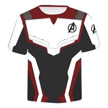 Avengers Endgame Quantum Warsuit T Shirt Cosplay Costumes Superheros Shirts