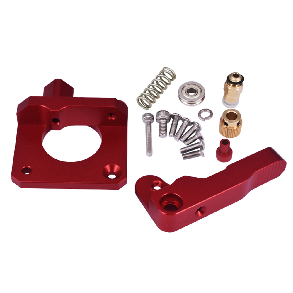 Upgrade Aluminum Extruder Drive Feed Kit Frame For Creality Ender 3 3D Printer