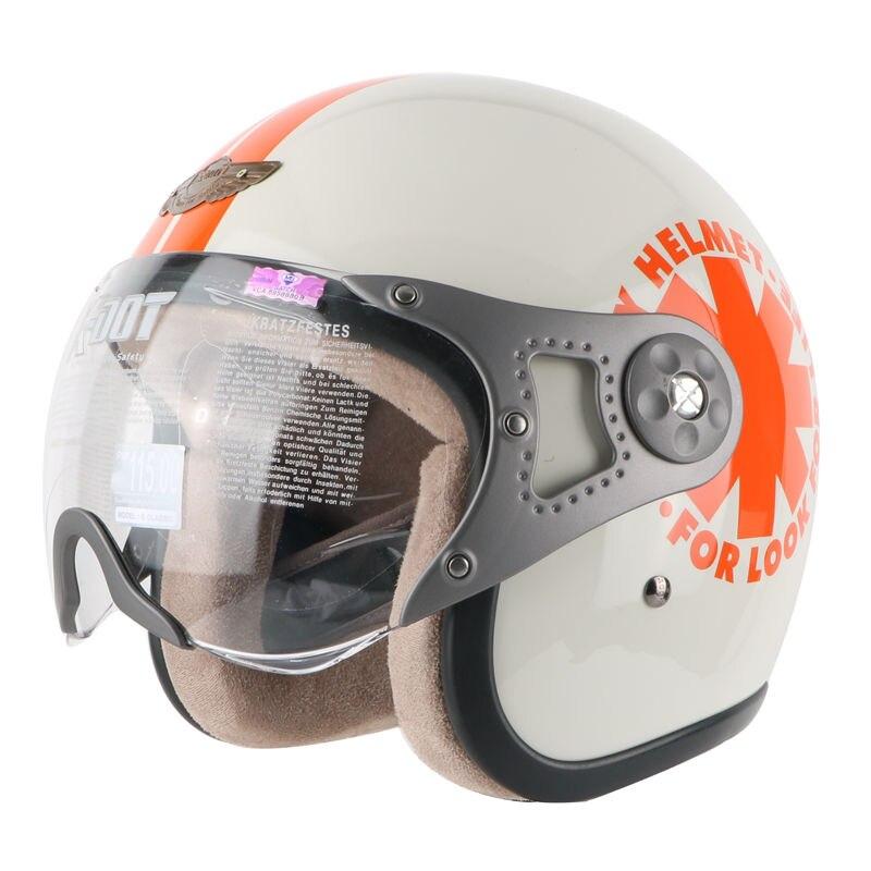 Free shipping Motorcycle helmet vintage jet retro helmet motorbike motocross open face Casco Capacete scooter dirt biker helmet
