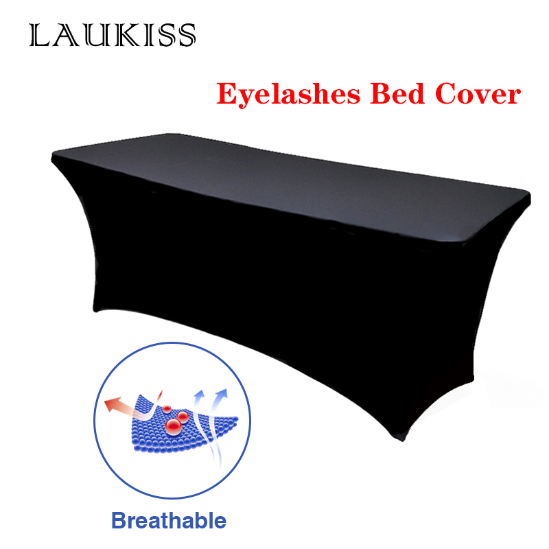 Professional Eyelashes Bed Cover Elastic Special Stretchable Bottom Table Bed Sheet Lashes Grafting Makeup Beauty Cosmetic Salon
