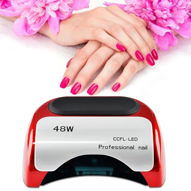 48W Nail Lamp LED UV Light Nail Dryer Electric Smart Nails Gel ...