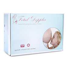 ACurio AF-703 Detector Fetal Doppler Pregnant Ultrasonic Prenatal Heart Rate Monitor