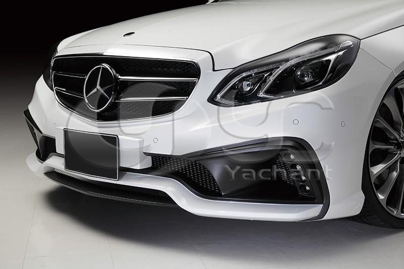 2013-2015 Mercedes Benz W212 E Class Sedan Wald Sports Line Black Bison Edition Style Body Kit FRP (6)