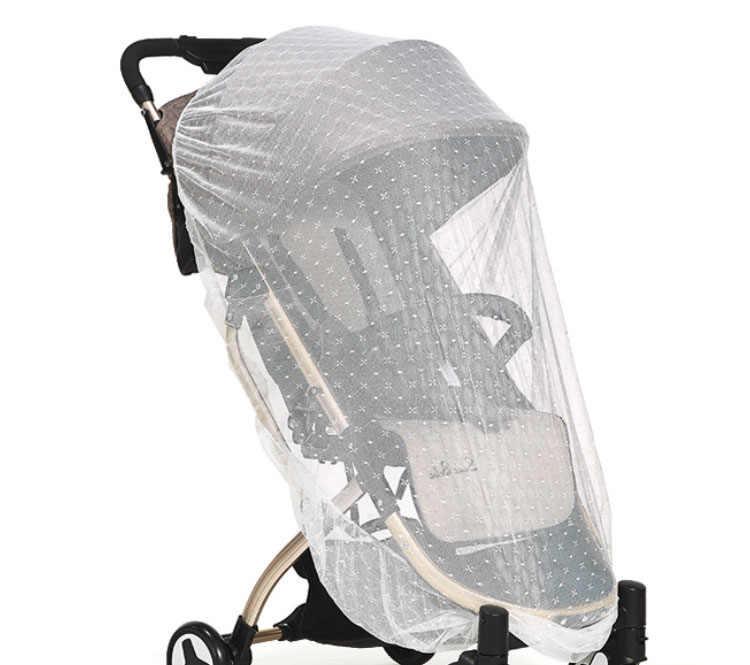 Для новорожденных, младенцев и малышей, малоенькая прогулочная коляска чистая коляска сетки коляска с сеткой от комаров; безопасная прогулочная сетки Багги кровать, палатка детская кроватка