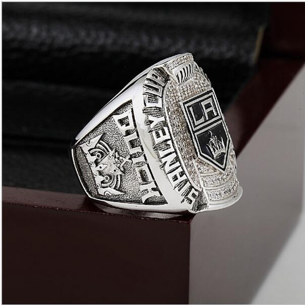 HOT 2012 NHL Los Angeles La Kings Hockey Stanley Cup Championship Ring Size 10-13 With High Quality Wooden Box Fans Best Gift