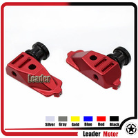 For Honda CBR500R CBR 500R 2014 2015 Motorcycle Accessories CNC Swingarm Spools Adapters Mounts Red