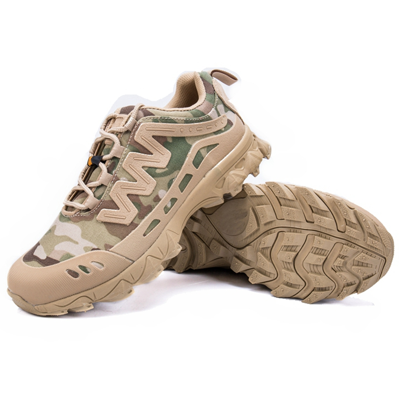New US Army Tactical Comfort Desert Leather Combat Military Boots Mens Army Shoes Multicam Color