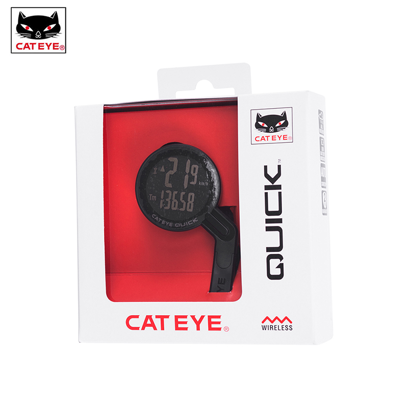 CATEYE Bicycle Computer Bike Strava Wireless Speedometer Cycling Waterproof Stopwatch Integrated Out Front Holder Computer NEW