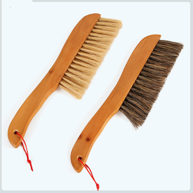1pcs Solid Wooden Bed Brush Cleaning Brush Sofa Bed Sheet Sweep Handmade  Crumb Sweeper Brush Dirt