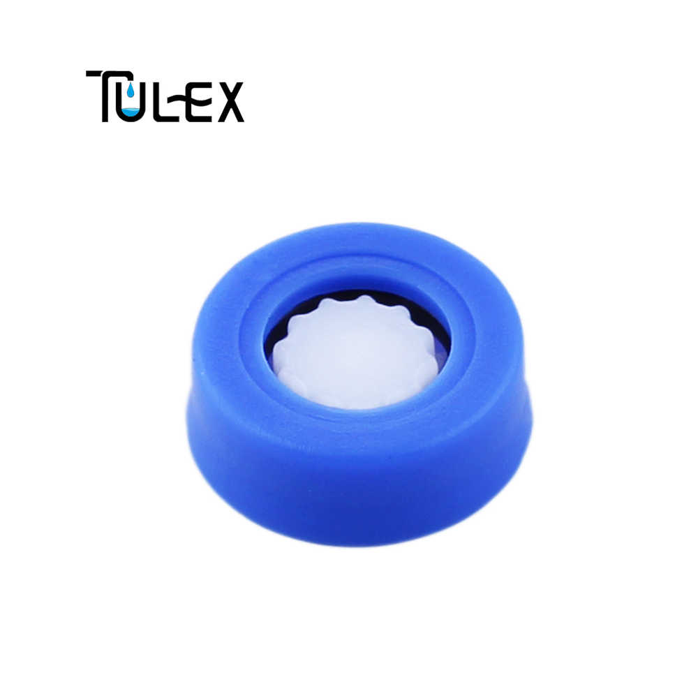 TULEX 14 ミリメートルウォーターセーバーシャワーヘッドヘッドレギュレータ 8L/分 5L/分の水流量制限節水シャワーミキサーキット浴室用