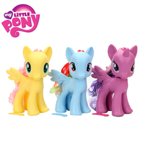 8inch My Little Pony Toy For Girl Friends Princess Rainbow Dash Twilight Sparkle Action Figure Collection