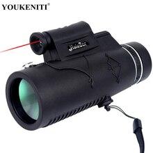 Монокуляр BAK4 лазерный свет Ночное Видение телескоп Туризм 12X50 Prismaticos для телефона Охота Инструменты Пеший Туризм окуляра