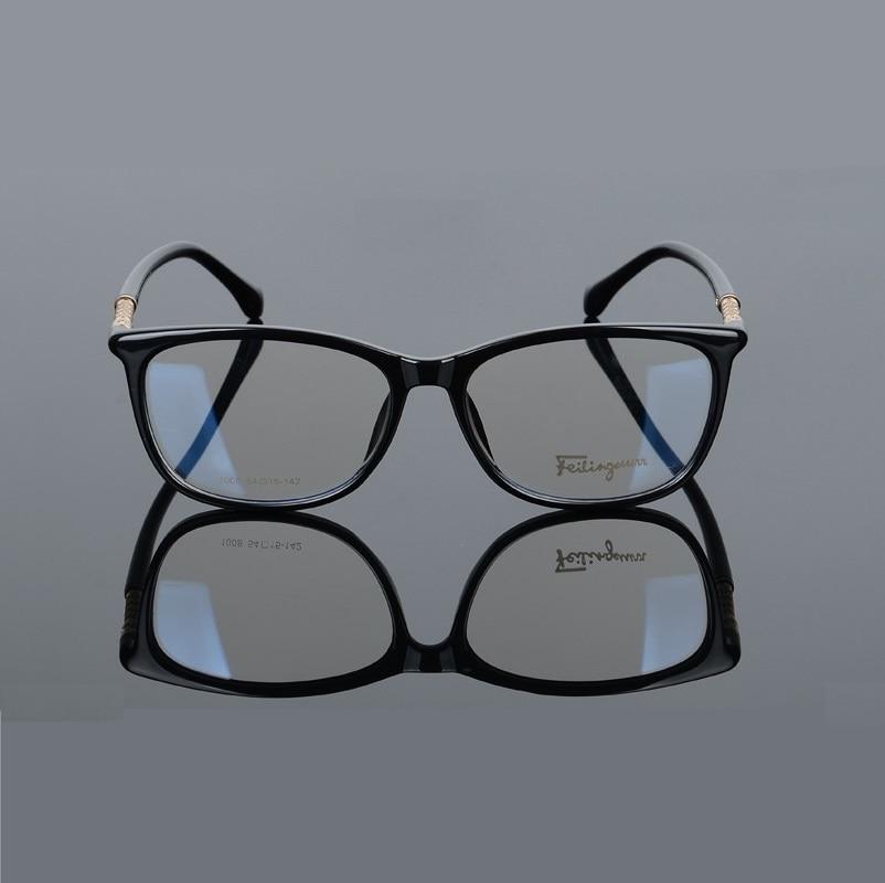 Image 3 - width 138 Full frame plate elastic legs fashion men women myopia optical glasses frames reading glass 008 oculos de grau eyewear-in Men's Eyewear Frames from Apparel Accessories