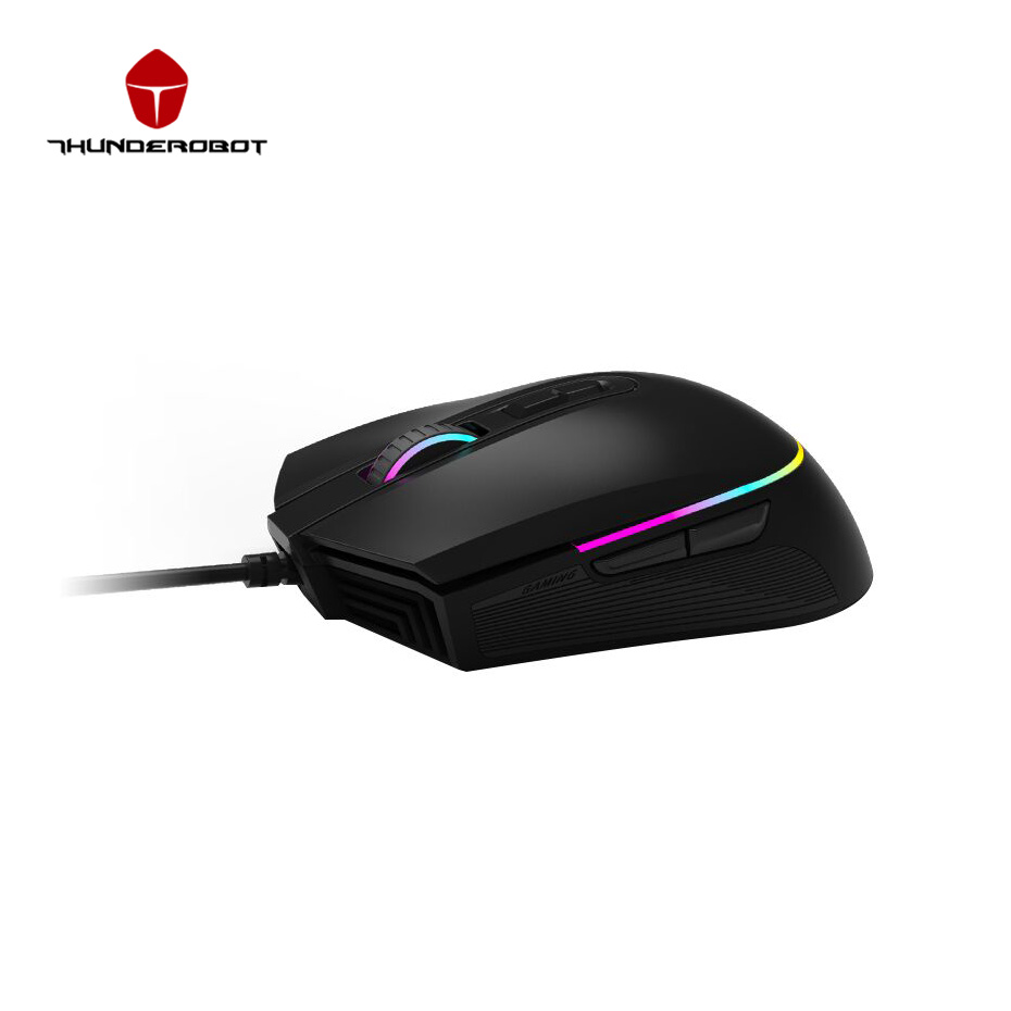 bilder für Thunderobot Hunter M301 Maus 3500 DPI Gaming Mouse 7 Tasten USB verdrahtete Mäuse LED Optische Computer-maus Gamer Mäuse Für PC Laptop