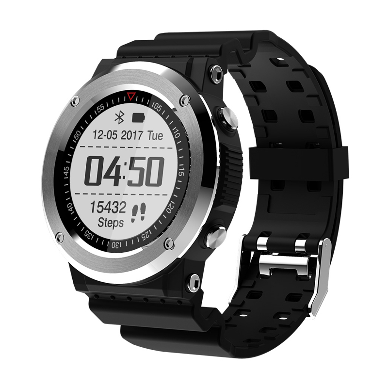 New GPS Smart Watch Heart rate Sleep Tracker Pedometer Bluetooth Swimming Stopwatch Compass Sport Watch for iOS Android phone