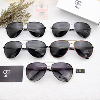 6abdc2303be051 Audi Classic Square Polarized Sunglasses Men Women Brand Designer Vintage  Driving Goggle Rivet Mirror Male Sun