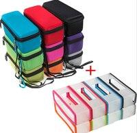 Llevar la Cremallera de EVA Bolsa Caja de Almacenamiento + funda de Silicona Suave de la piel para Bose Soundlink Mini 1/Mini 2 Altavoz Del Bluetooth sin hilos