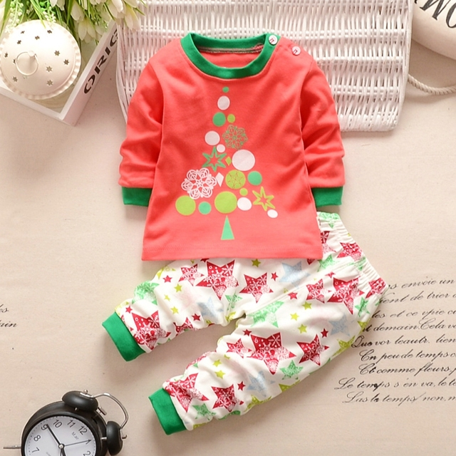 bbb2f901a Floral Baby Girls Clothing Set Animal Rabbit Duck Pattern Suit Cute ...