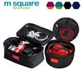 M Square Travel Bra Bag Underwear Storage Digital Bags Wash Cosmetic Makeup Toiletry Bag Oganizer Make Up Neceser Clutch Pouch