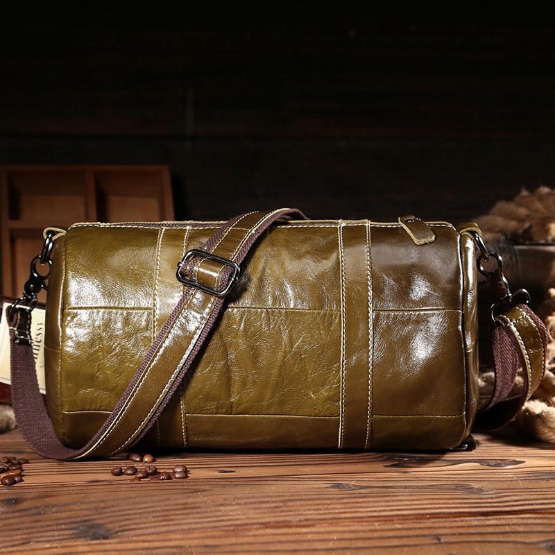 2018 New Crossbody Bag Shoulder Genuine Leather Men Messenger Bag Leather Crossbody Shoulder Bag Zipper Handbag Strap Bags цена 2017