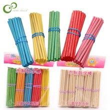Mathematics Teaching-Aids Montessori Kids Preschool Counting-Sticks Bamboo Colorful 100pcs