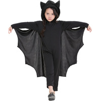 Child Stage Performance Clothing Boy/Girl Jumpsuit Animal Bat Wings Styling Kids Cosplay Halloween Costume Batman Suits Sets New