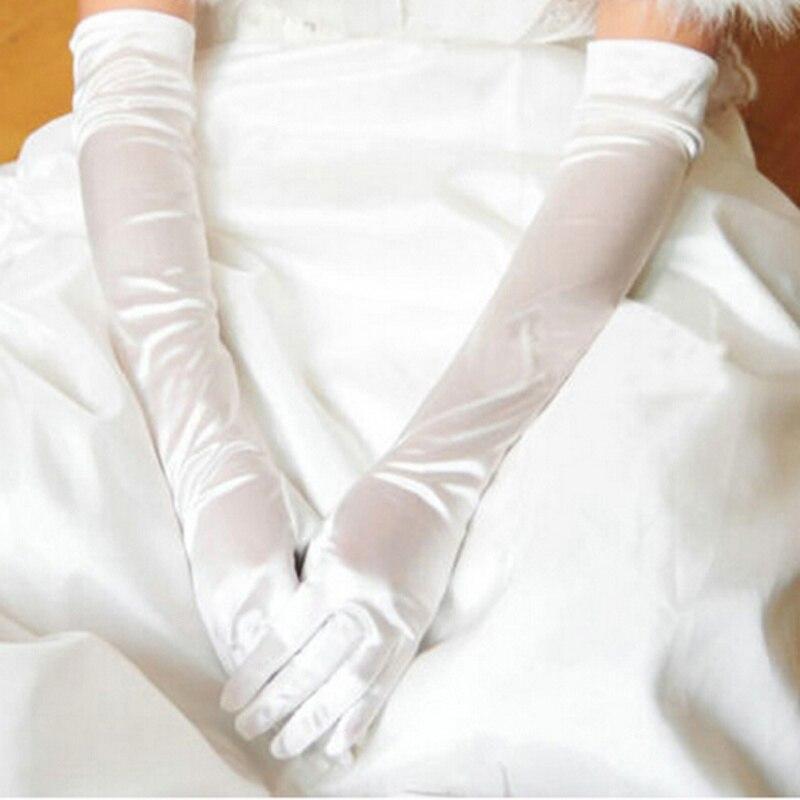 Damen-accessoires 6 Farben Sommer Tranparent Frauen Arm Wärmer Arm Hülse Feste Farbe Lange Finger Handschuhe ZuverläSsige Leistung