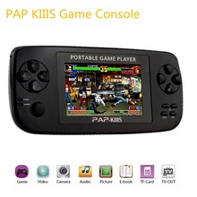 3.5″ Portable Handheld Game Console,64BIT PAP KIIIS Games Perfectly support CP GBA format games and MP5 Music Player Camera